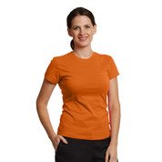 Wholesale plain womens slim fit t-shirts online