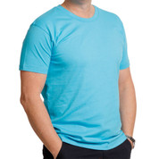 Buy wholesale mens slim fit plain tshirts top tee Online