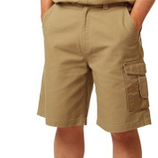 DON Men cotton canvas cargo shorts Khaki