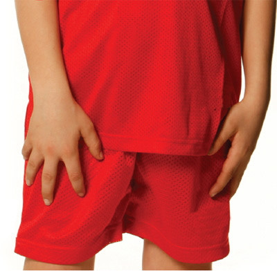 HOOPER Kids plain basketball shorts