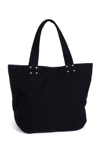 METRO Canvas Tote Bag Black