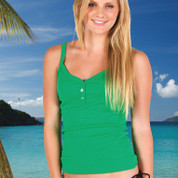 NICKI Ladies Camisole Cotton Singlet Top