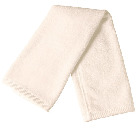 100% Cotton Plain hand Towel | White