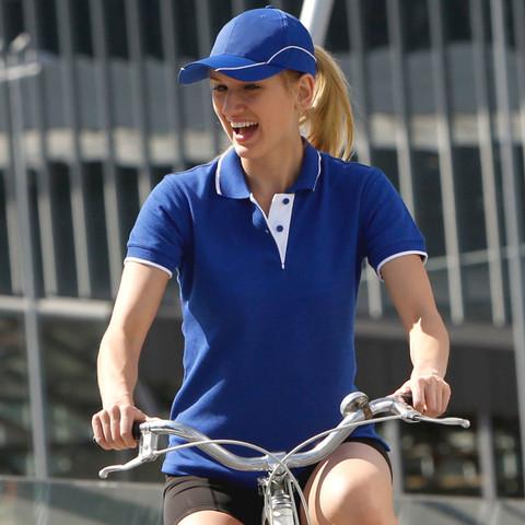 LIBERTY Women polo shirts contrast pique
