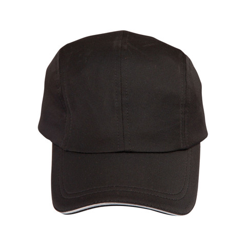 Bamboo  Adult Baseball Caps Eco-Friendly Hat |  Black