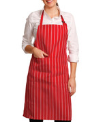 MAESTRO | Striped Butcher's Apron Full Bib