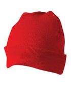 bulk buy plain beanie online | Red