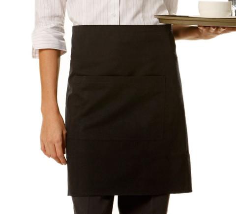 PREP plain aprons short waist