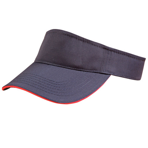 plain twill visor hat | wholesale