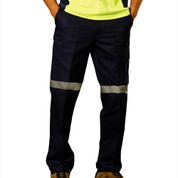 TAZZIE Men drill pants 3M tape