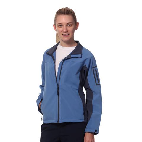 Bulk Buy Softshell Contrast Jacket Ladies