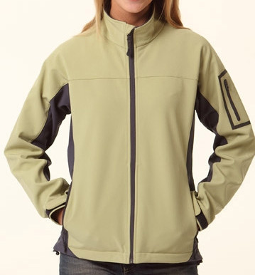 WARWICK Women contrast soft-shell jackets