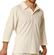 WICKET | cricket 3/4 sleeve polo shirts