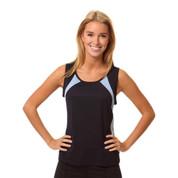 Wholesale Women contrast athletic singlet