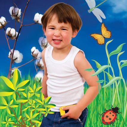 Blank Clothing | Baby/Children's singlets organic