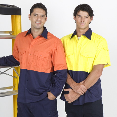 STAN safety shirts short/long sleeves