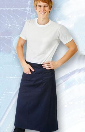 SKILLET apron plain easy-care   long waist
