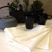 Shop plain linen tea towels bulk wholesale