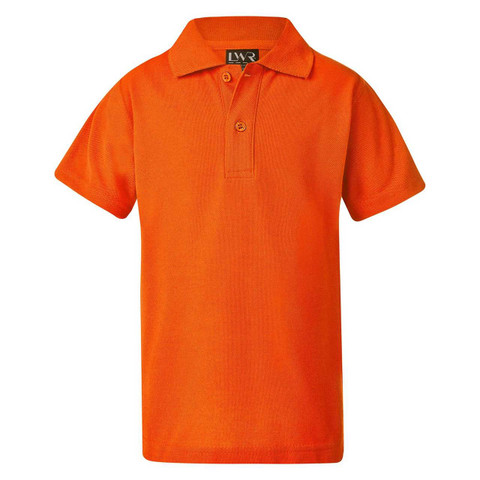 polo shirts | plain pique | adult | Burnt Orange