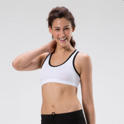 Wholesale Plain Ladies Gym Crop Top