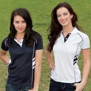 DEFENDER | short sleeve polo women | quick dry
