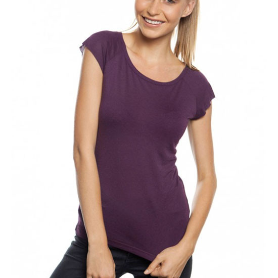 ZHU | Womens Bamboo Raglan Tshirt Fair Trade
