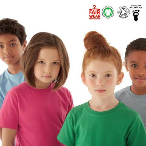 ENZO   kids organic classic tshirt