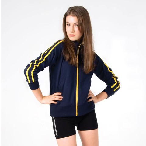 BROOKLYN | collared sweater jacket | ladies/junior