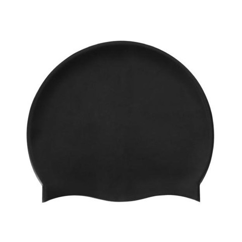 DOLPHIN | swimming cap | sillicon | black
