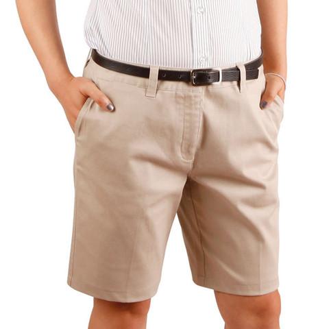 womens twill chino shorts