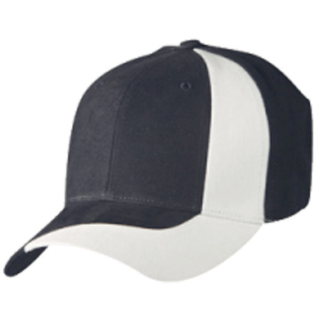 Contrast Adult Baseball Cap Online   Navy/White