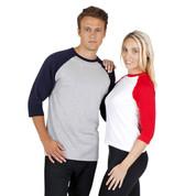 Baseball Raglan Tshirts Online |  Blank Clothing Australia