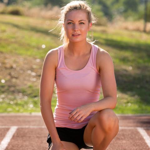 JASMINE | stretch long singlet | racer back