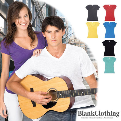 ZANE t-shirts v-neck wholesale online