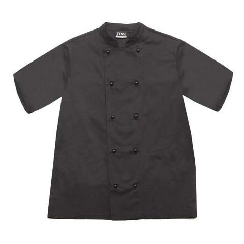 GOURMET | chefs jacket | short sleeve | black