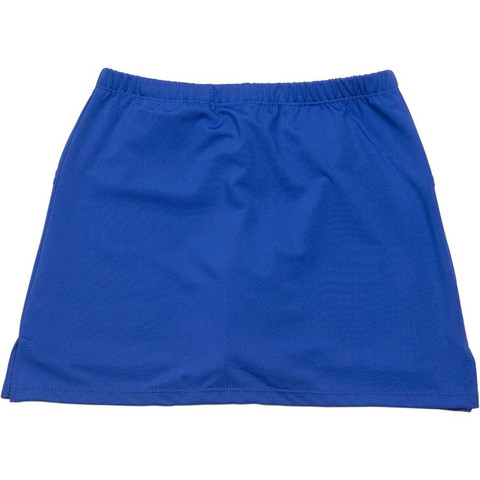girls stretch skort | royal blue