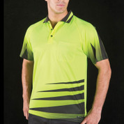 FORCE | quick dry fluoro polo | short sleeve