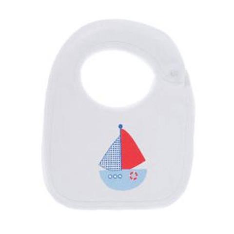 Baby Bibs Online Feeding  | white boat