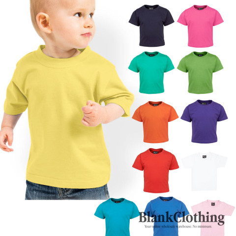AVERY | blank baby infant tshirt | 100% cotton