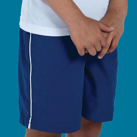 PANTHER | kids sports shorts | piping | team uniform