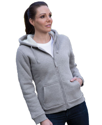 SHEPHERD | fleecy hoodie jacket | womens