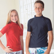 BONDI | kids short sleeve rashies