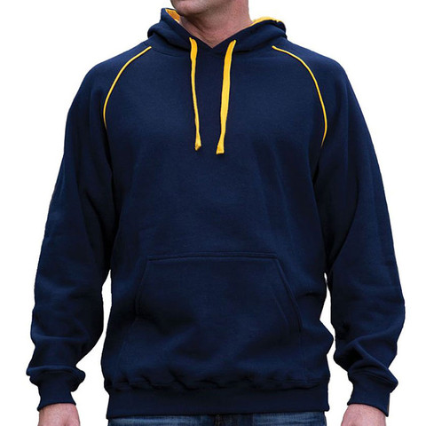 VIPER | contrast fleecy hoodies | mens