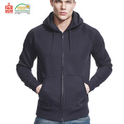 SKYLAR | eco zipped hoodie |  fair trade | mens