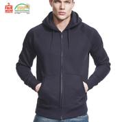 SKYLAR | eco zipped hoodie |  fair trade | mens