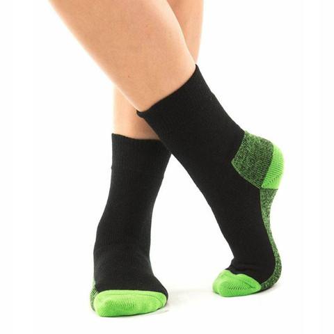 YOWAH | womens outdoor socks | lime