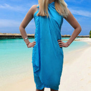 BENAZIR   plain rayon sarongs