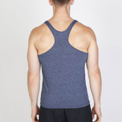 FINCH | mens racerback heather singlet