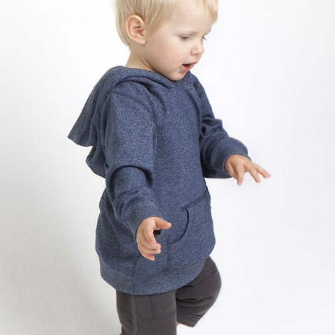 QUINN | baby heather hoodie | stretch