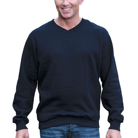 MULLICAN   v-neck fleecy jumper